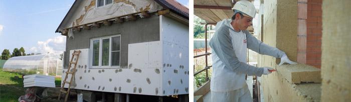 Утеплить дом снаружи своими руками: подбор материалов, нормативы и монтаж