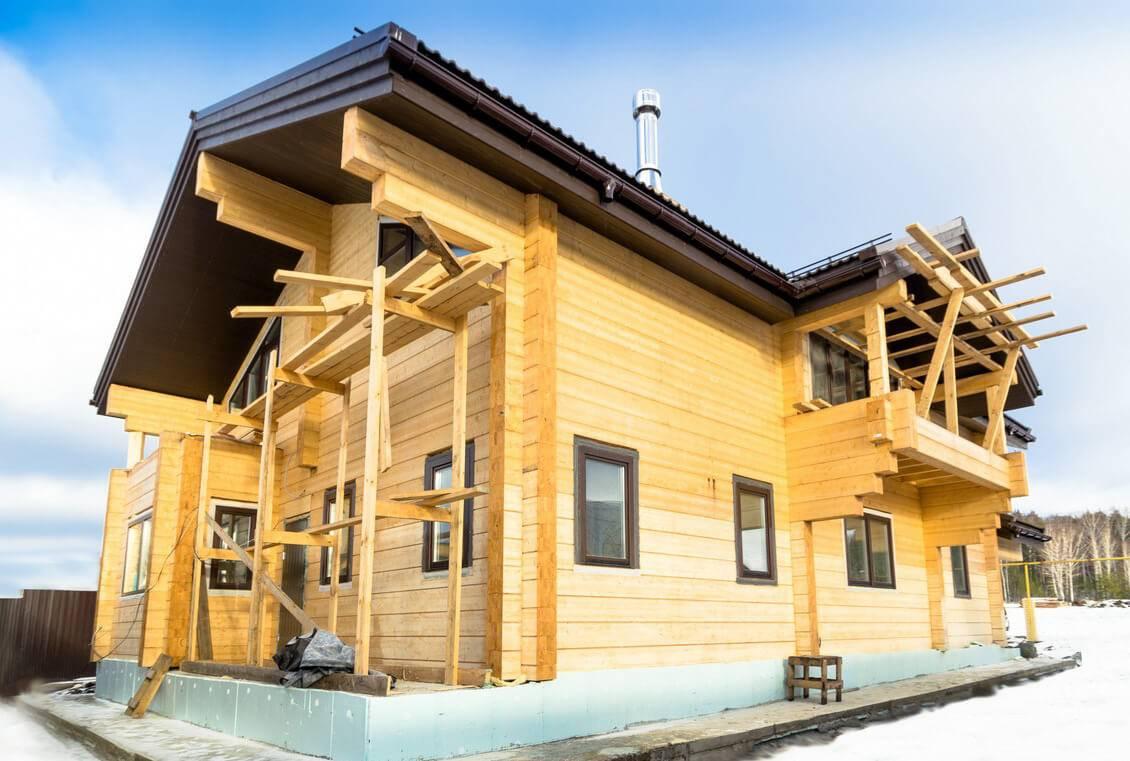 Утепление дома из бруса: теплоизоляция стен межвенцовым утеплителем в постройке из профилированного материала, утепление брусового дома изнутри своими руками
