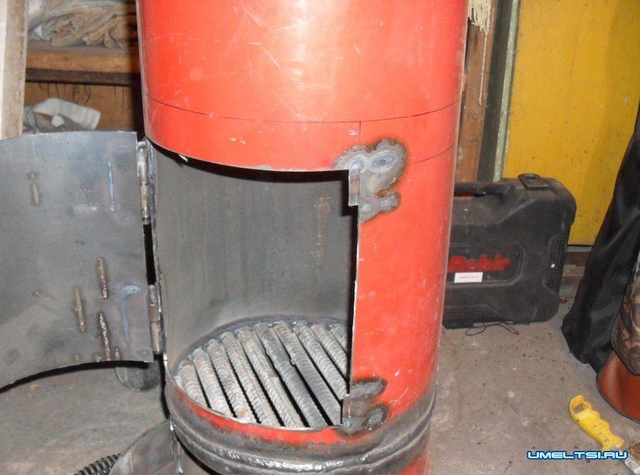 Как сделать пиролизную буржуйку из газового баллона — 2 лучших способа