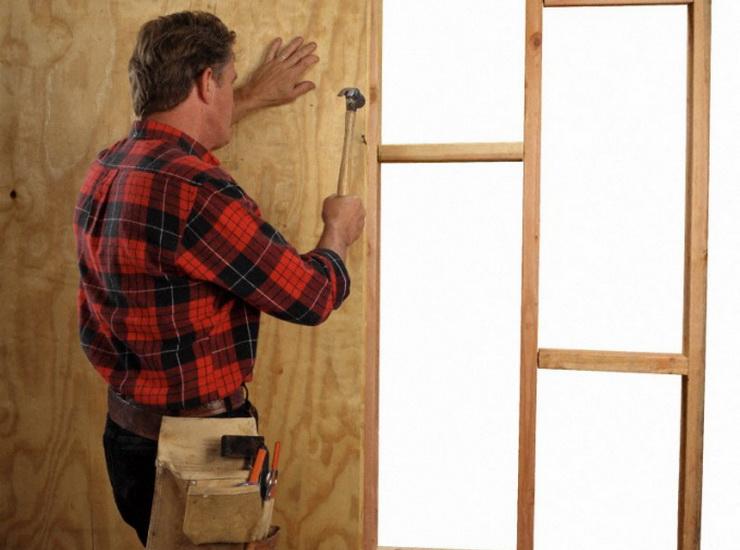 Утепление входной деревянной двери в частном доме