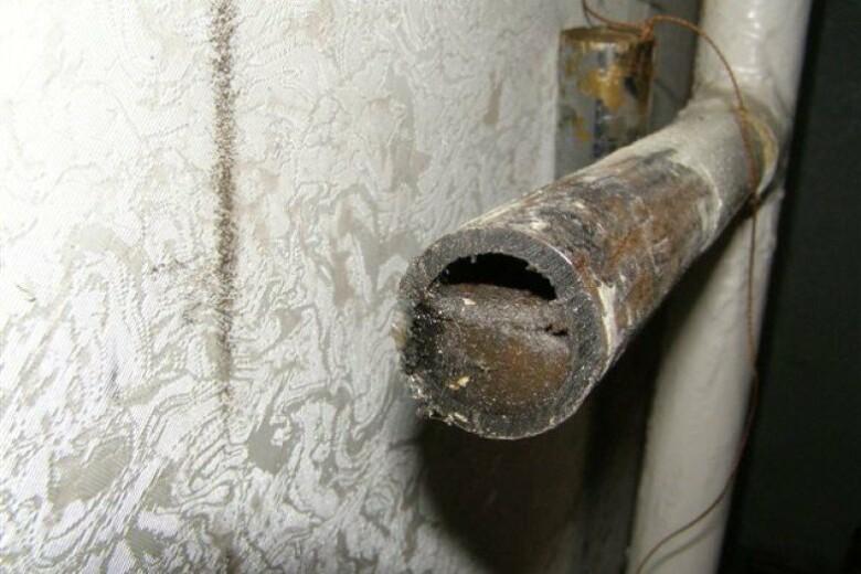 Как заделать свищ в трубе под давлением? - отопление и водоснабжение от а до я