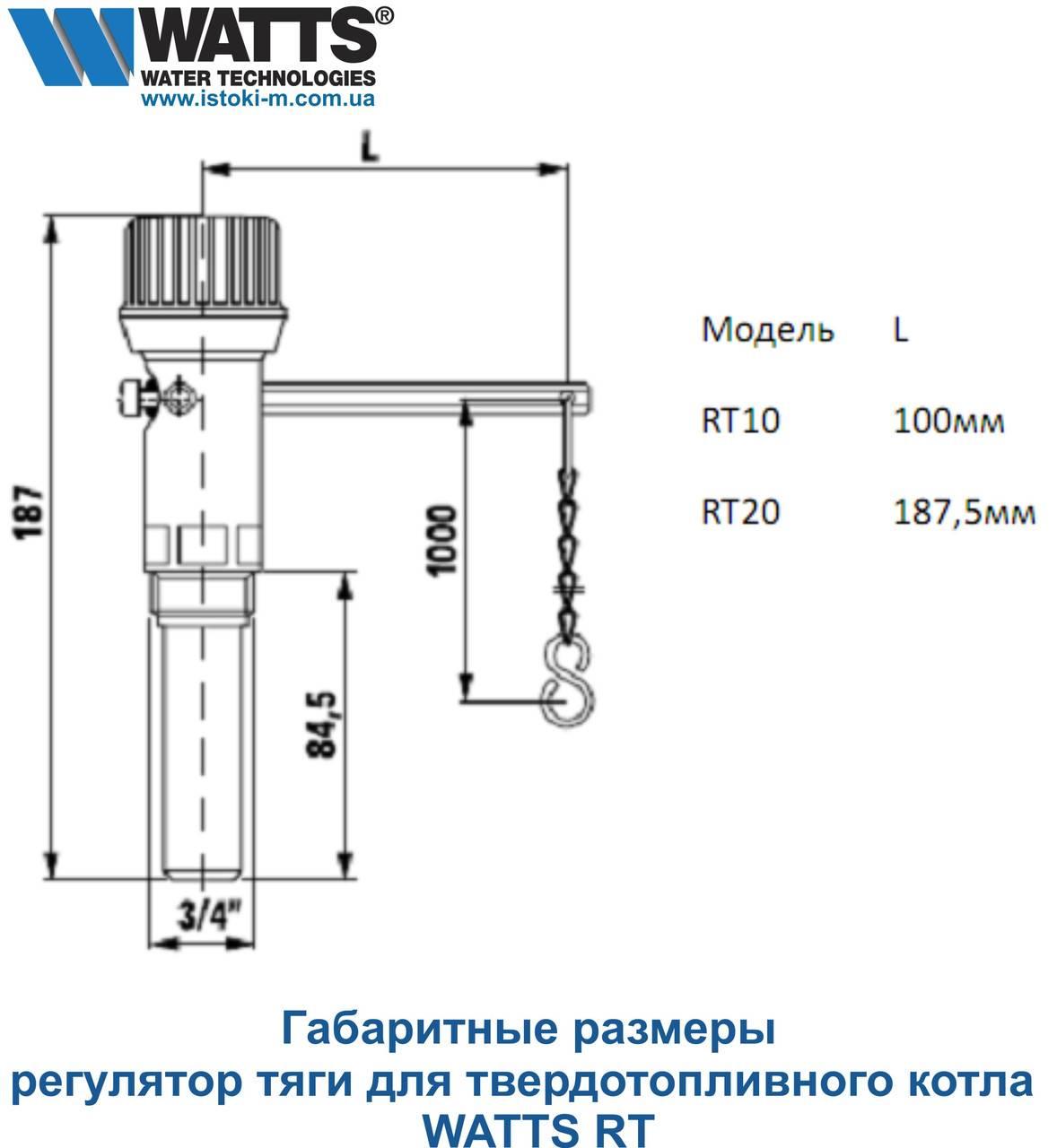Регулятор тяги для твердотопливных котлов: назначение, конструкция