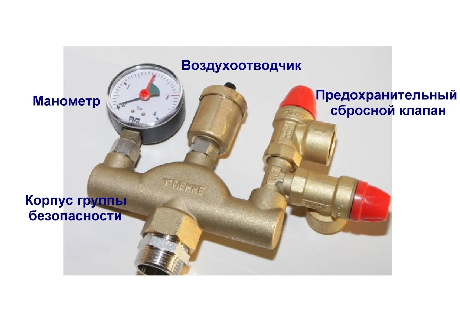 Клапан на отопление, виды устройств для отопительной системы: предохранительные, воздухоотводчики, обратные и другие
