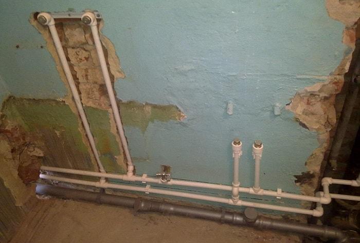 Монтаж отопления из полипропиленовых труб - как сделать правильно, схема