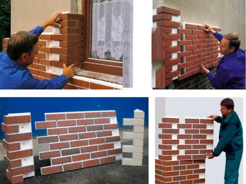 Монтаж фасадных панелей своими руками