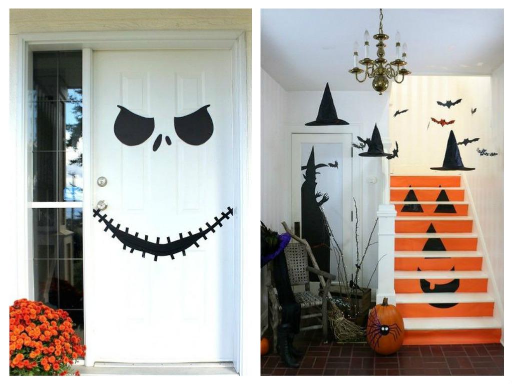 Декор на хэллоуин своими руками: простые, оригинальные, детские и крутые декорации