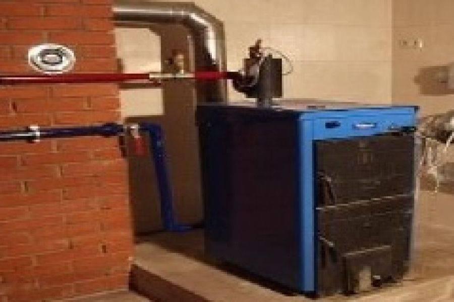 Использование дровяного котла для отопления частного дома