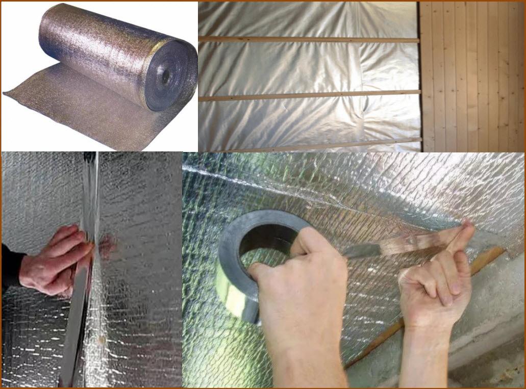 Как крепить фольгированный утеплитель к стене - клуб мастеров