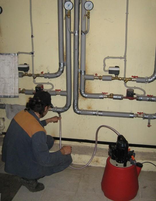 Опрессовка труб пневматическая и гидравлическая. общий порядок проведения работ