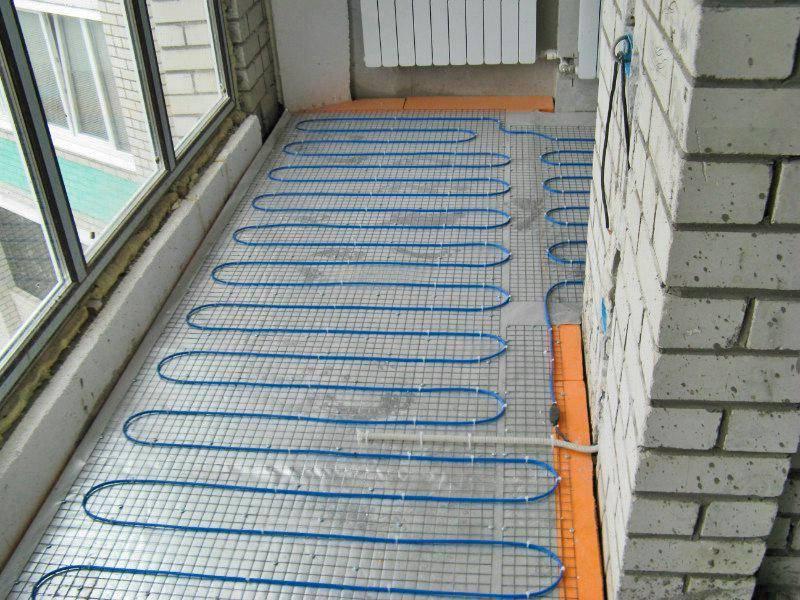 Теплый пол на балконе под ламинат - основные варианты