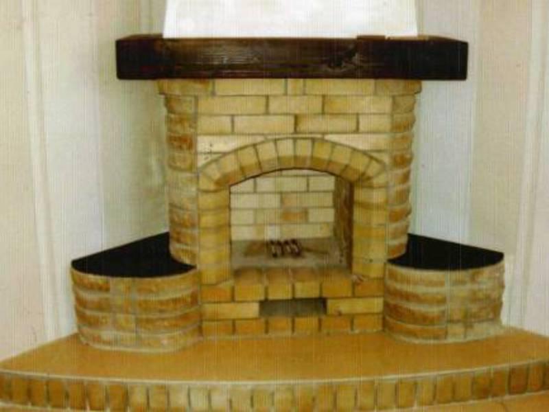 Угловой камин в дизайне интерьера