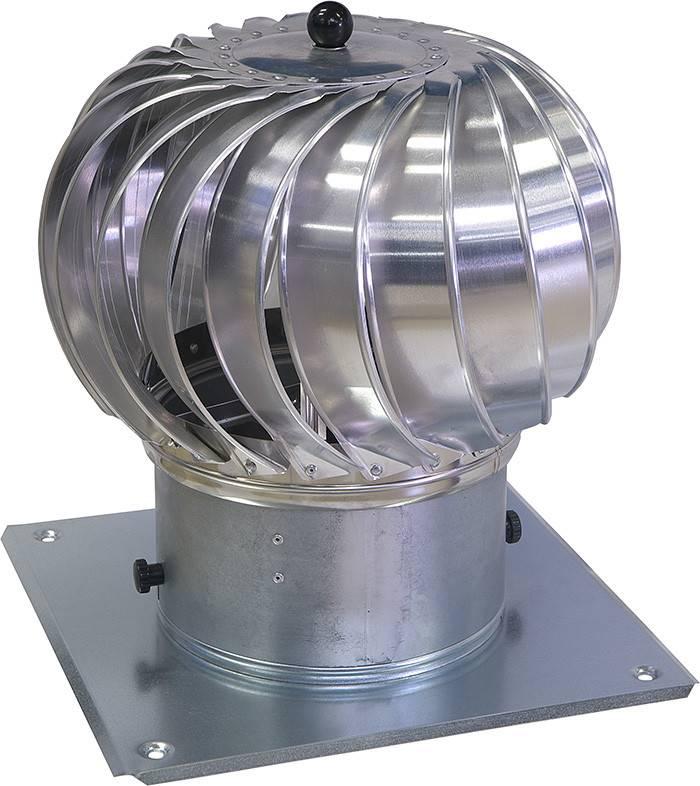 Вентиляционный дефлектор: принцип работы, конструкция, установка