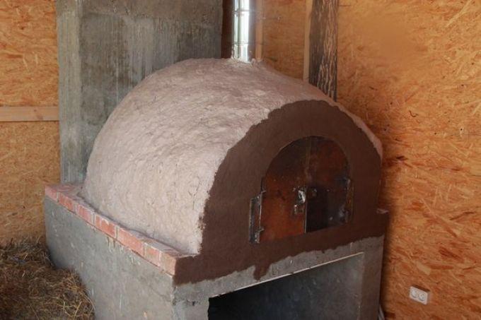 Строим печь для пиццы: схема и пошаговое описание