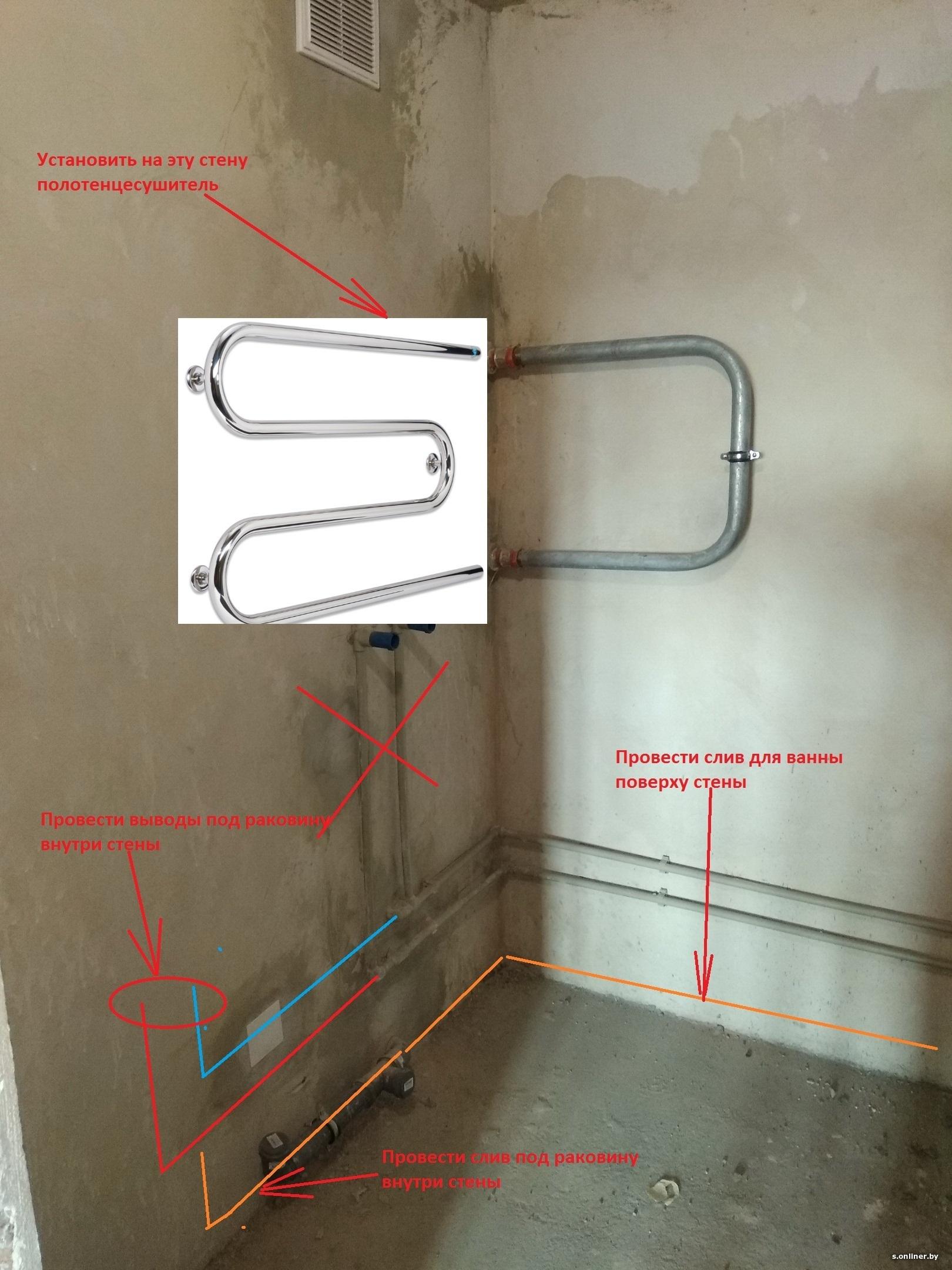 Как заменить полотенцесушитель в ванной: порядок выполнения работ и причины неисправностей