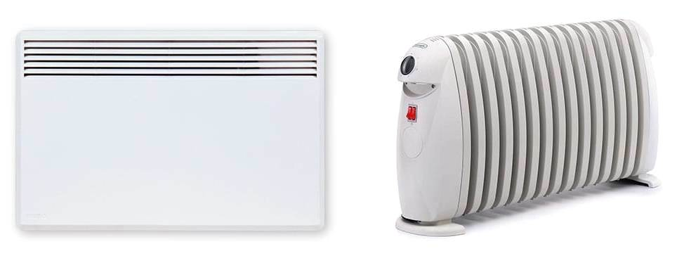 Что выбрать: масляный радиатор или конвектор?