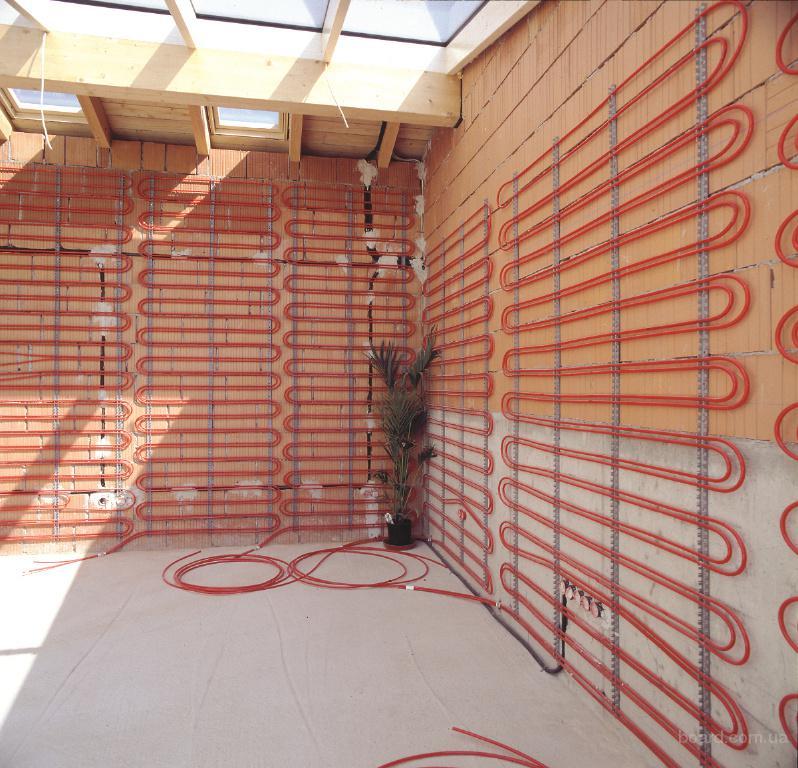 Теплый пол на стену: критерии выбора системы и особенности монтажа