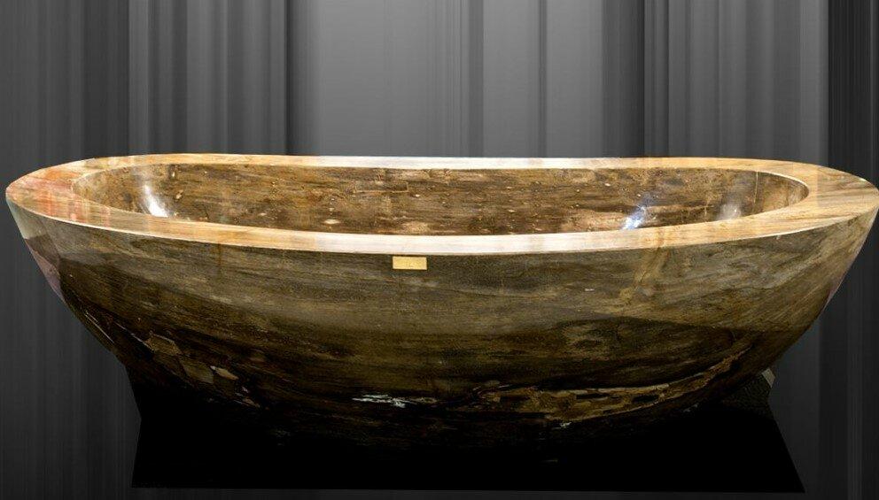 Самые дорогие ванны в мире: ёмкости из драгоценных и редких материалов