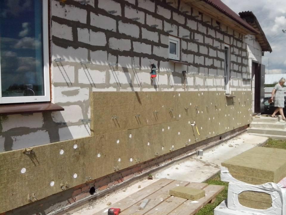 Утепление стен при строительстве дома: виды утеплителей, способы и методы утепления и можно ли строить дом без утепления стен?
