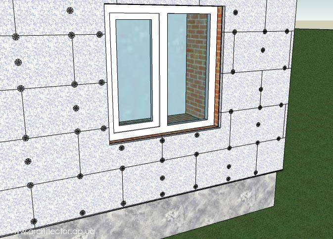 Рекомендации по монтажу армированного пенопласта для фасада