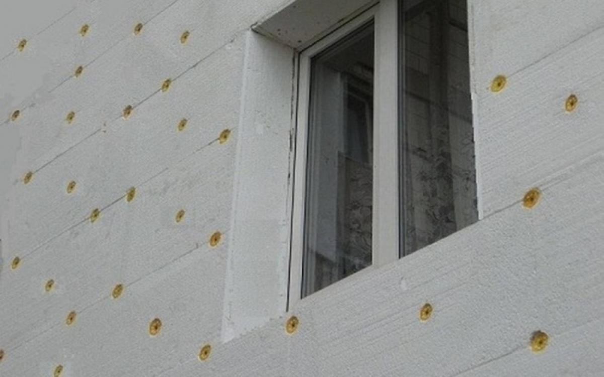 Утепление фасада пеноплексом, технология монтажа