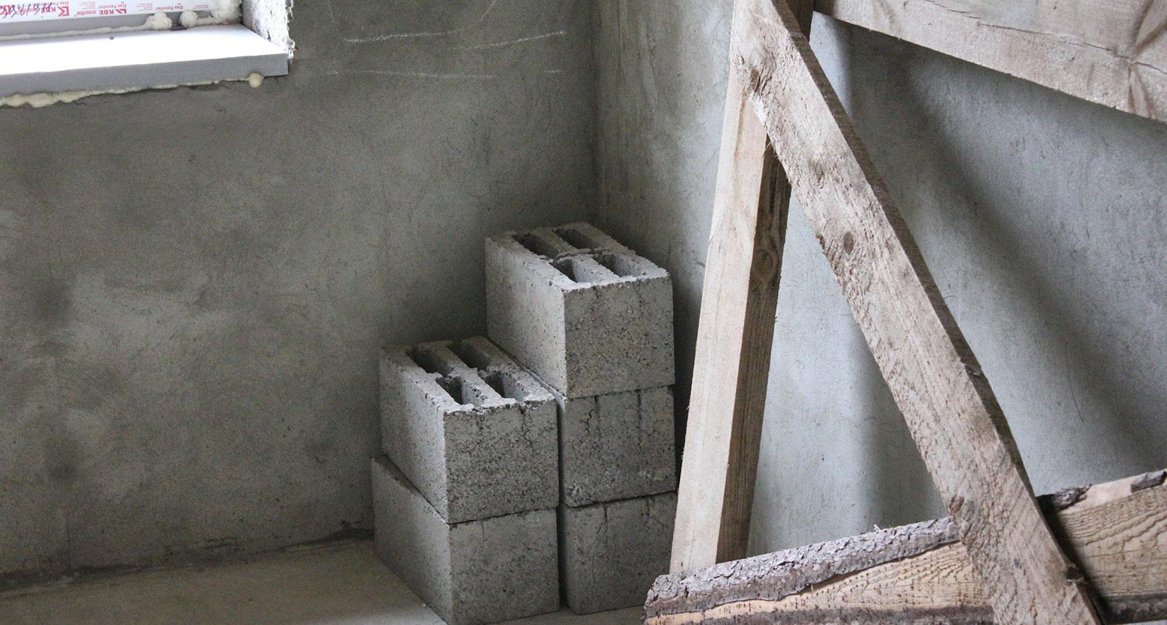 Утепление дома из керамзитобетонных блоков снаружи