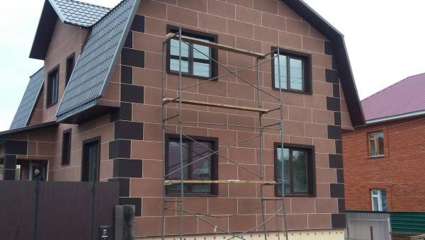 Термопанели фасадные для деревянного дома - монтаж видео
