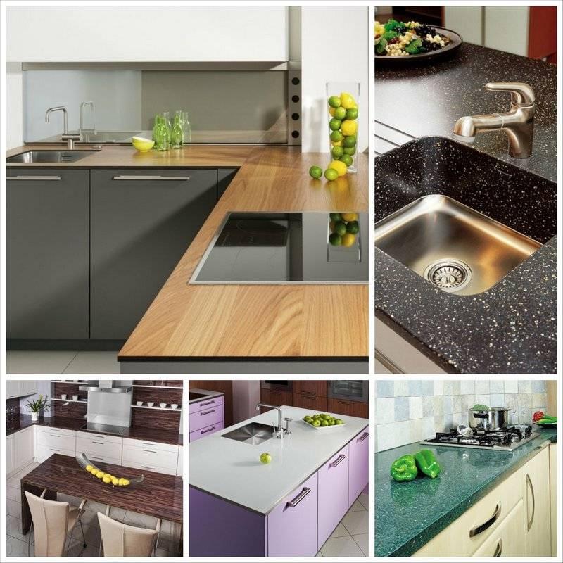 Столешница для кухни: правила выбора, советы и рекомендации