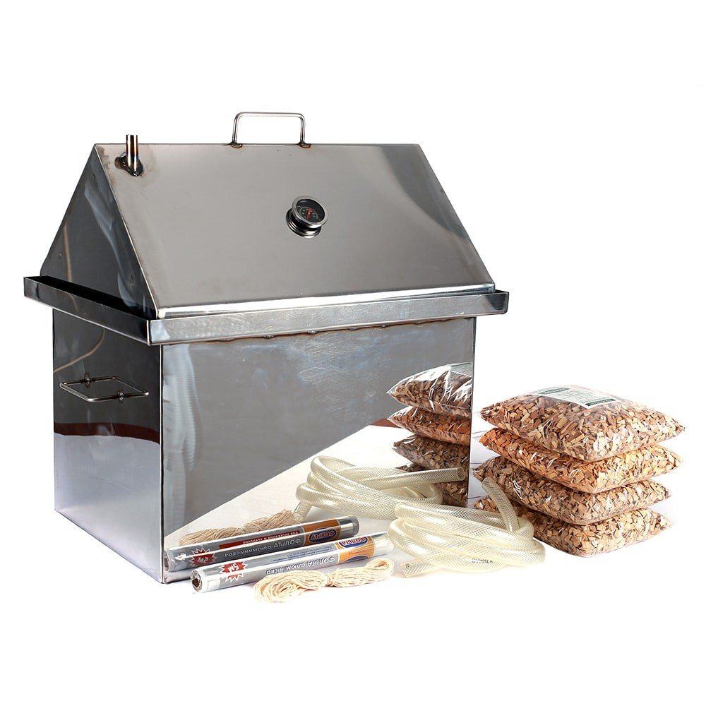 Домашняя коптильня (84 фото): варианты холодного копчения для дома и квартиры, изготовление своими руками из газовой плиты