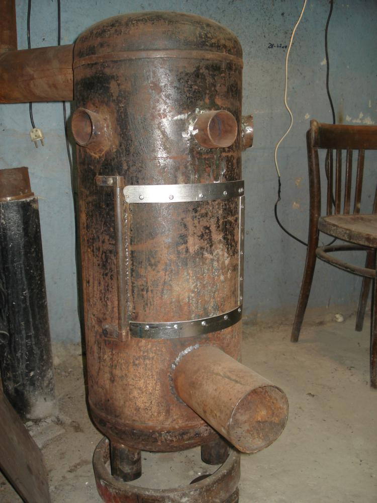 Буржуйка из газового баллона на дровах своими руками: чертежи, пошаговая инструкция + фото