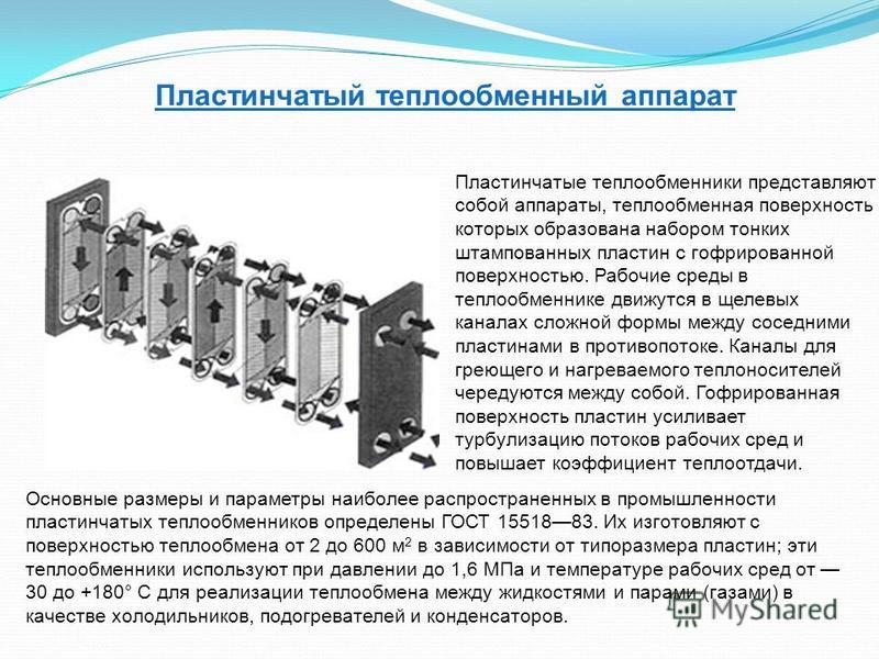 Теплообменники: госты, параметры, составные части - трубные пучки, аво; классификация теплообменников: кожухотрубчатые теплообменники, теплообменники кожухотрубные, пластинчатые теплообменники