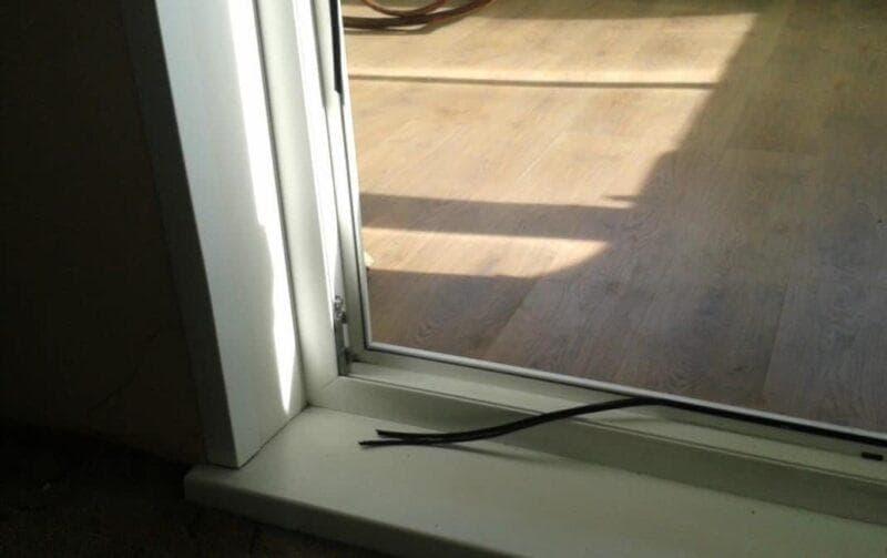 Утепление балконной двери своими руками ⋆ прорабофф.рф