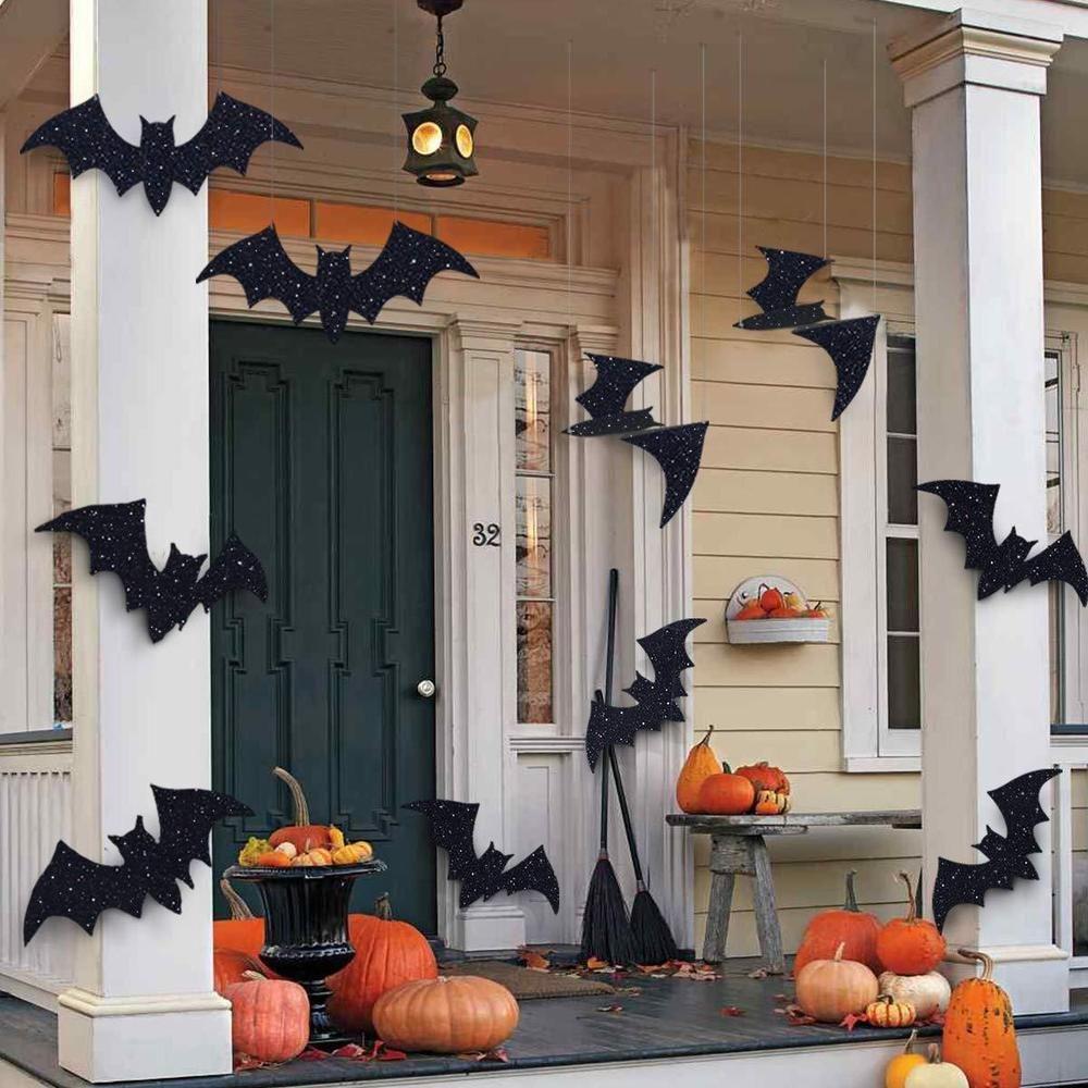 Как недорого украсить дом на хэллоуин своими руками