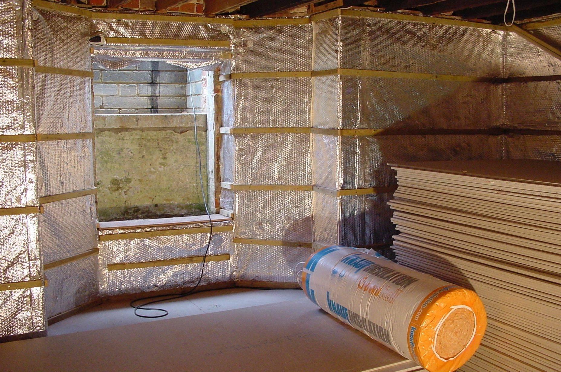 Утепление стен изнутри в деревянном доме своими руками