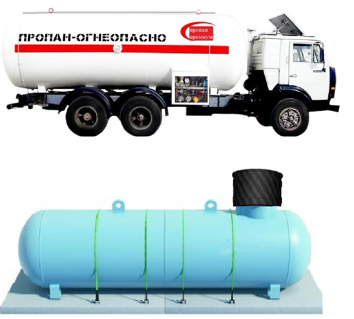 Пропан бутан для газгольдера - свойства и особенности