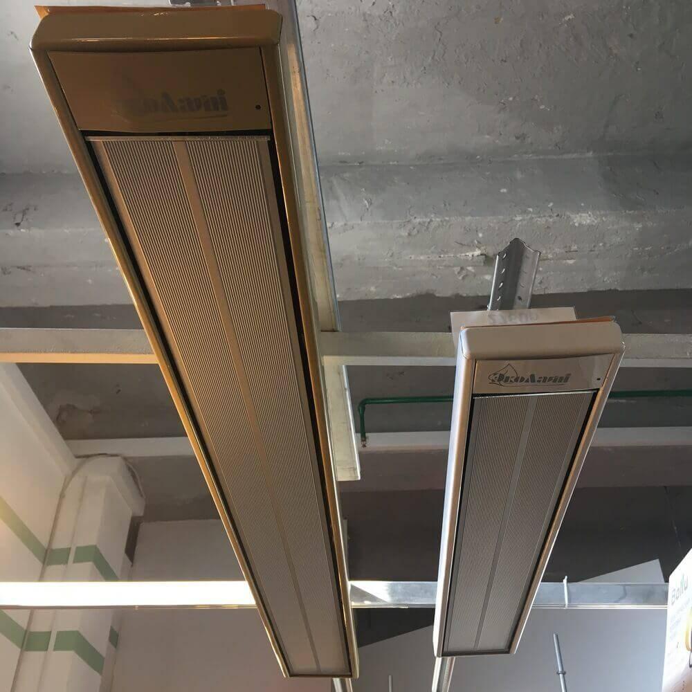 Инфракрасный потолочный  обогреватель: эколайн, ballu