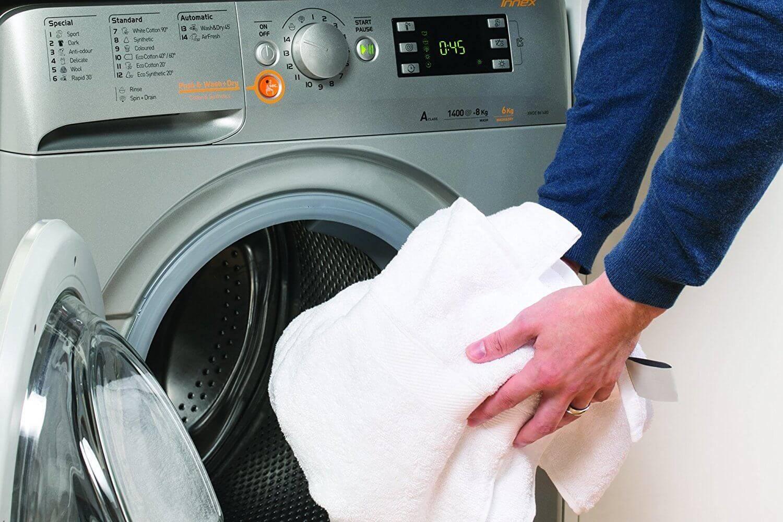Как постирать шторку для ванной (от желтизны и налёта): в машинке и вручную