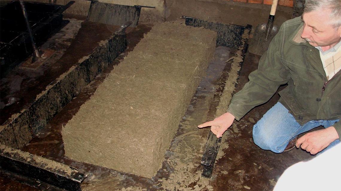 Арболитовые блоки - состав смеси, пропорции для приготовления