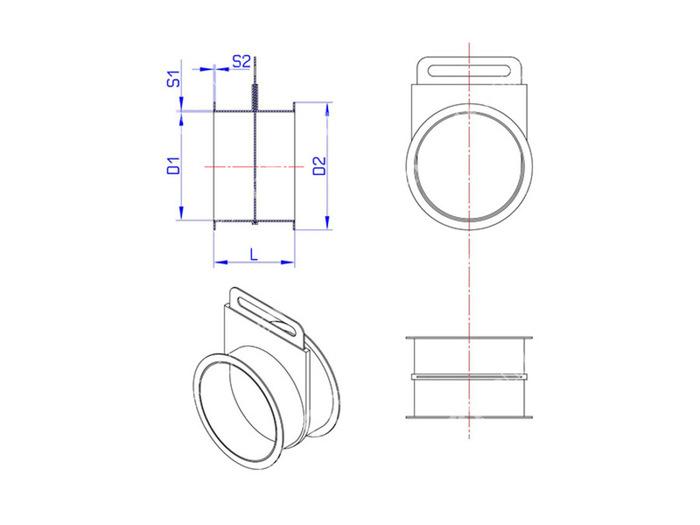 Шибер для дымохода своими руками: как сделать и установить задвижку