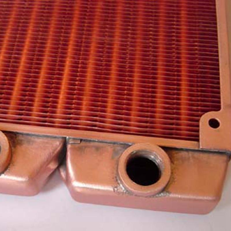 Сравнение медного и алюминиевого радиаторов печки для автомобиля