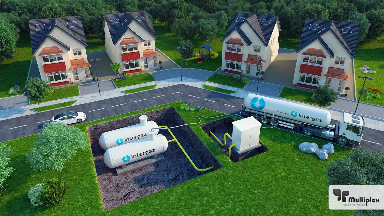 Газгольдер для частного дома: принцип работы и обзор различных видов