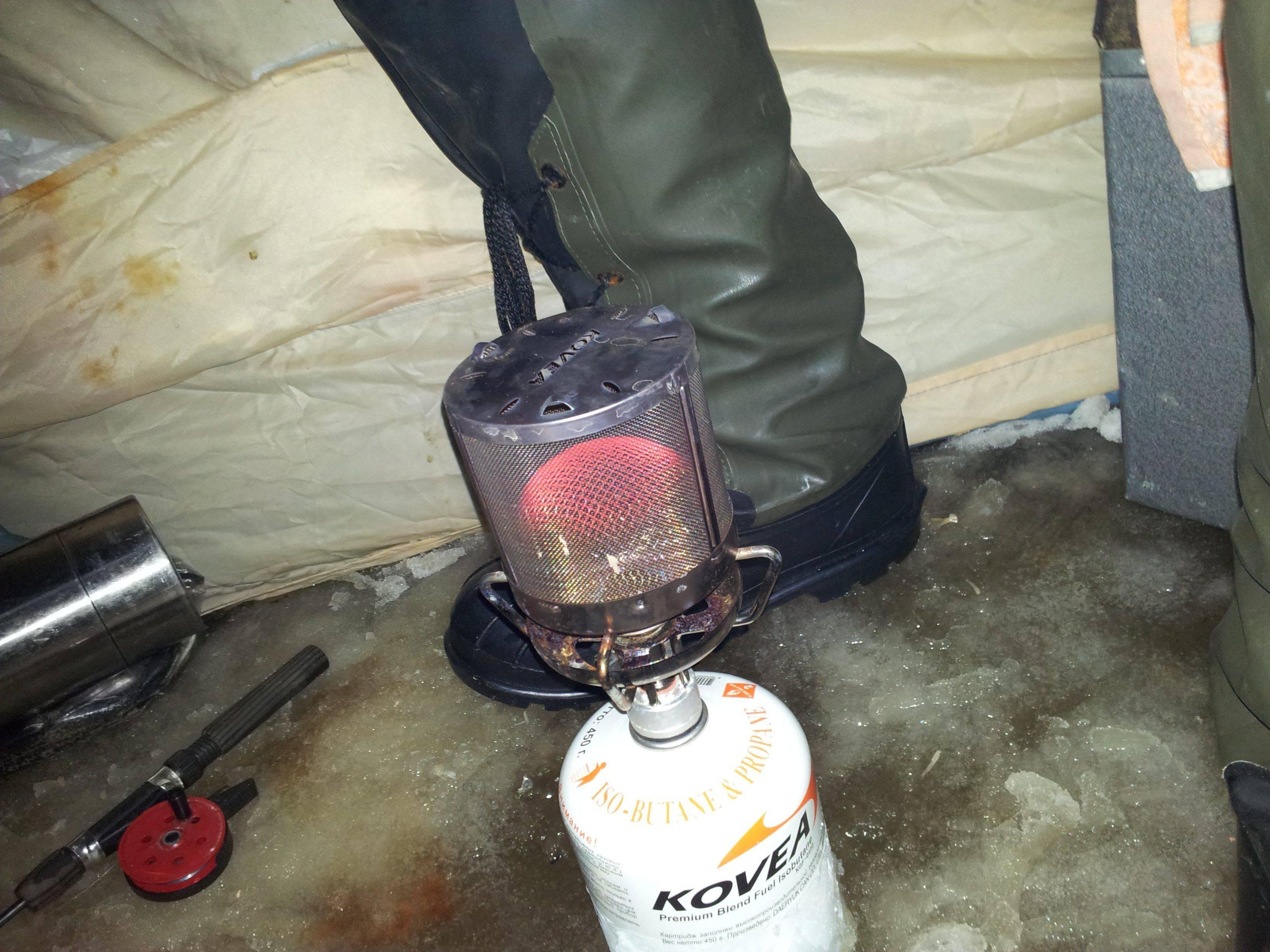 Газовые обогреватели для палатки: виды и особенности