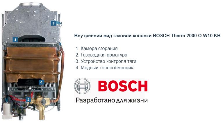 Как отрегулировать газовую колонку бош