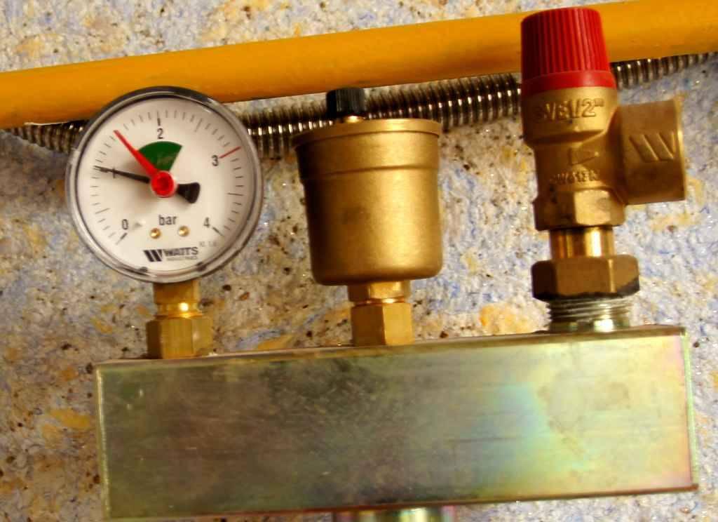 Рабочее давление в системе отопления + устранение перепадов и потерь