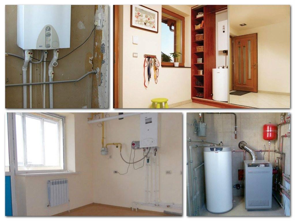 Автономное отопление в квартире многоэтажного дома - путь реализации проекта