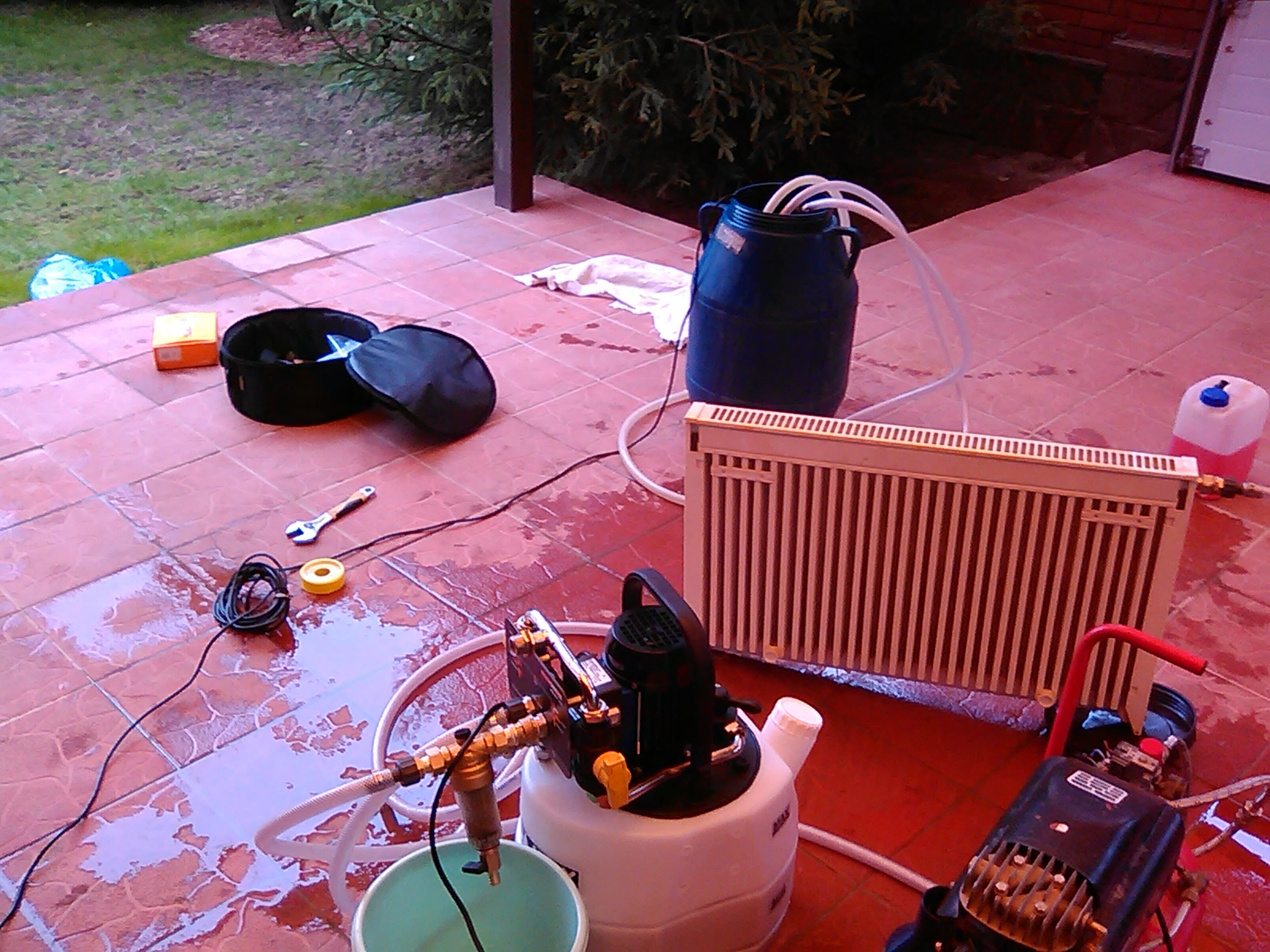 Промывка системы отопления: способы промывки отопления