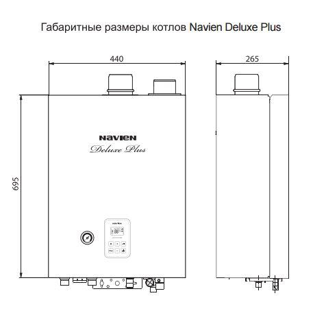 Двухконтурные котлы Navien