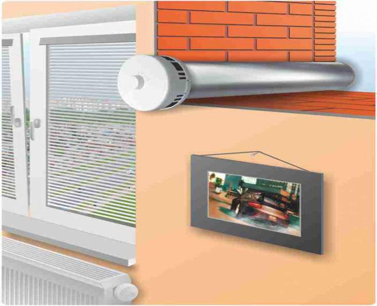 Приточный клапан в стену: принцип работы, особенности установки и эксплуатации
