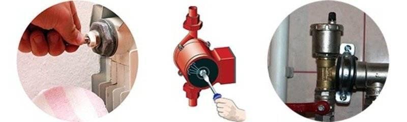 Как выгнать воздух из системы отопления дома - все о строительстве и инструментах