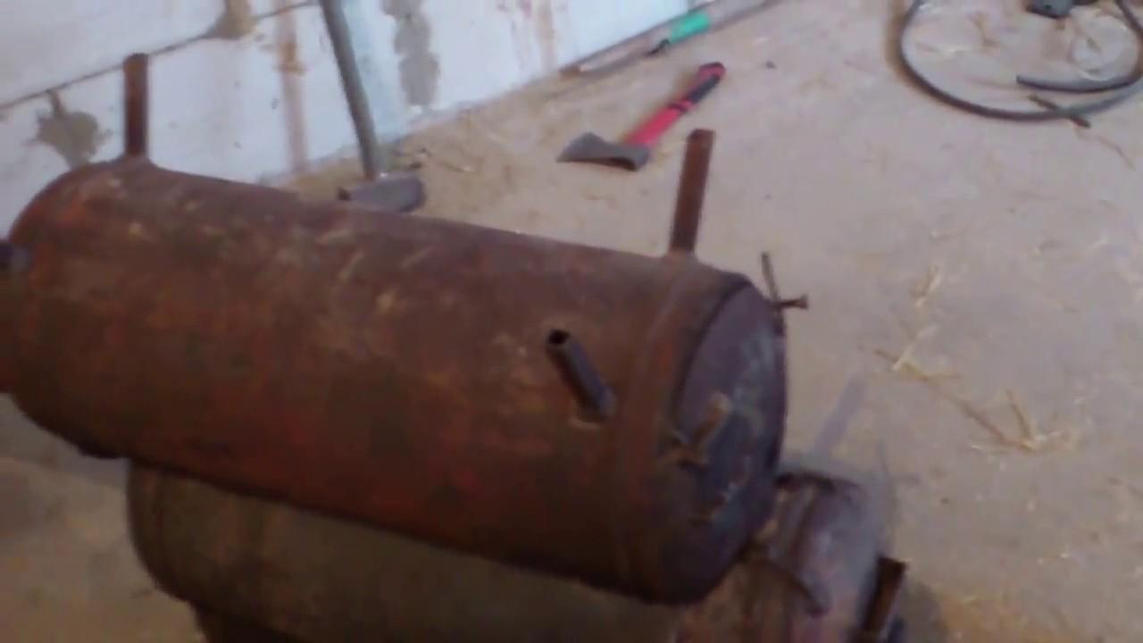 Буржуйка из газового баллона своими руками: схема, устройство, принцип работы, чертежи буржуйки длительного горения на дровах