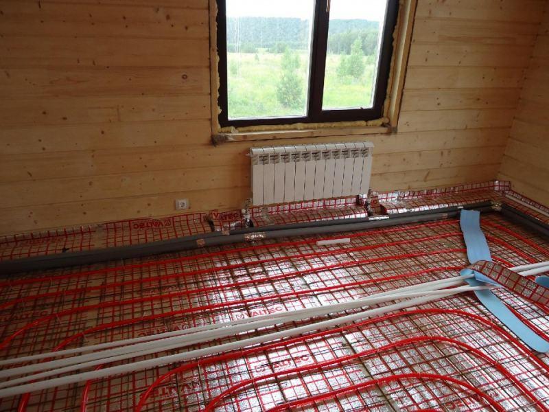 Пошаговая инструкция по укладке электрического теплого пола